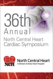 36th Annual North Central Heart Cardiac Symposium Banner