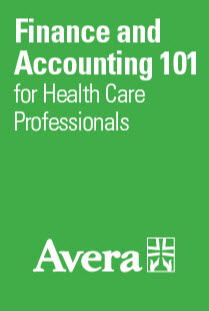Finance and Accounting 101 for Health Care Professionals Banner