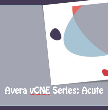 Avera vCNE Acute Care Series - Drug Diversion in the Health Care Setting (Enduring Material) Banner