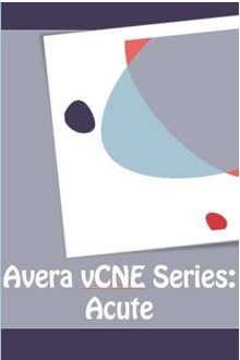 Avera Virtual Continuing Nursing Education (vCNE): Acute Care Series Banner