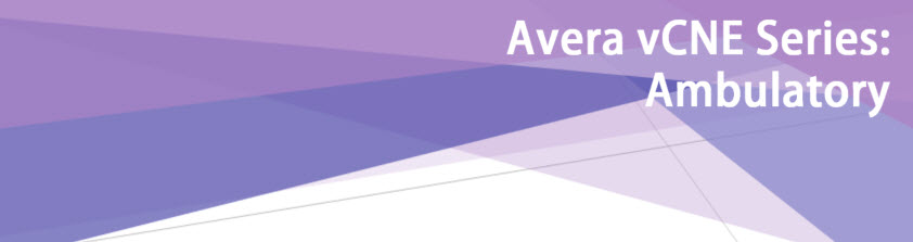 Avera Virtual Continuing Nursing Education (vCNE): Ambulatory Care Series Registration Banner