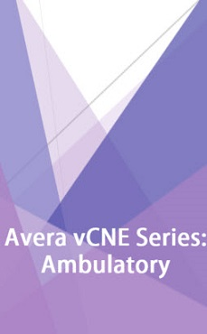 Avera Virtual Continuing Nursing Education (vCNE): Ambulatory Care Series Banner